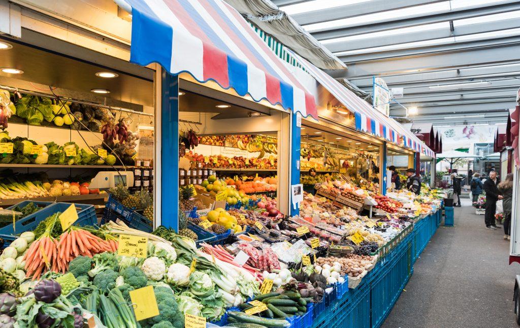 Carlsplatz Markt in Düsseldorf von Cityfreizeit