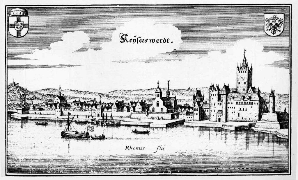 Historische Zeichnungs des Kaiserswerth