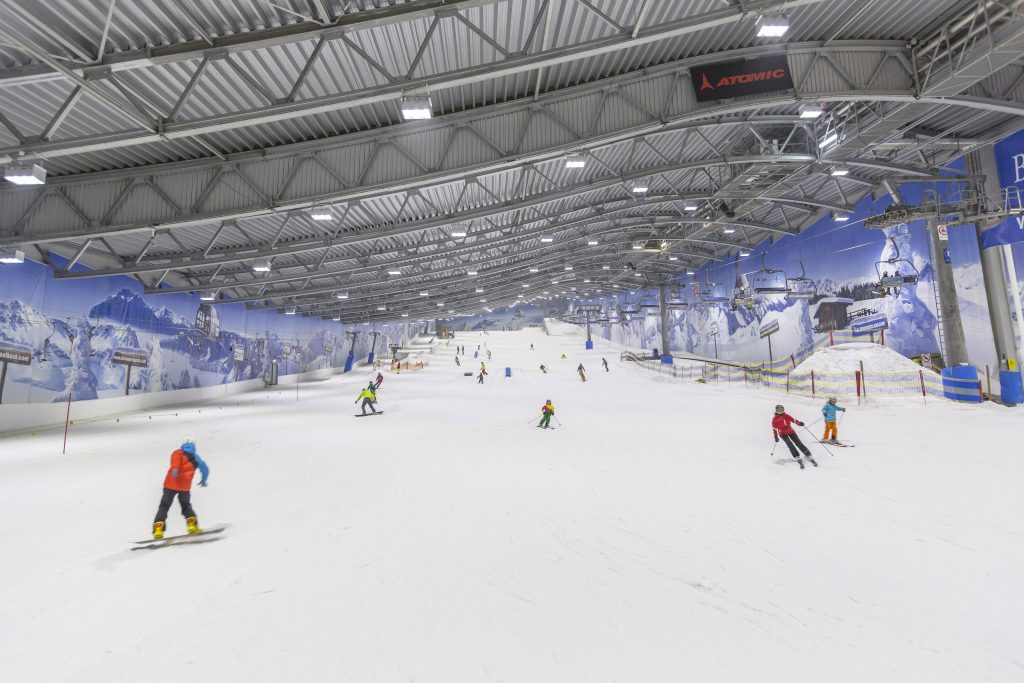 Skihalle Neuss - die große Piste