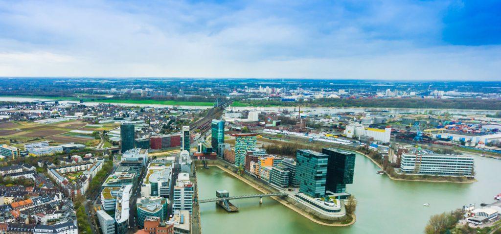 Hafen in Düsseldorf